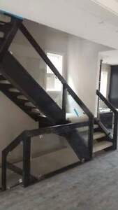 Custom Stairs Railings Mantles Deck Rails Calgary Alberta image 5