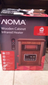 2 Wooden Cabinet Infrared Heater's for Sale