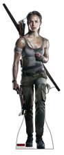 TOMB RAIDER - LAURA CROFT - LIFE SIZE STANDUP/CUTOUT BRAND NEW - NEW MOVIE 2681