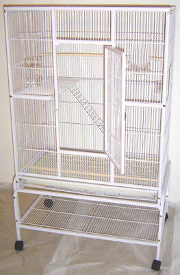 NEW Large 3 Level Ferret Chinchilla Sugar Glider Mice Rat Cage White Vein - 527