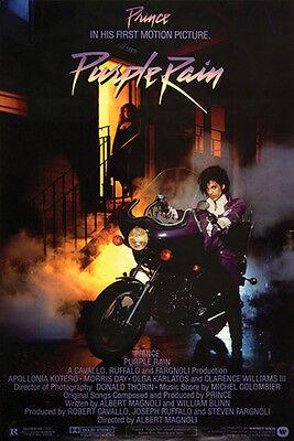 Prince Purple Rain Reproduction Movie Poster   24