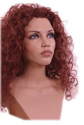 Black Mannequin Head Che Female Wig Display Heads From Vaudevillemannequins.com