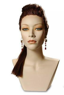 Asian Mannequin Head Female Wig Display Heads From Vaudevillemannequins.com