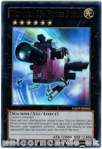 GAOV-EN045 Number 25: Force Focus Ultra Rare UNL Edition Mint YuGiOh Card