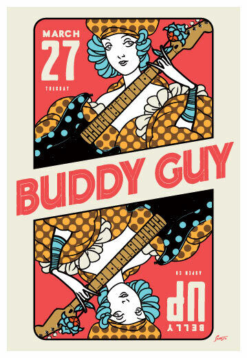 Scrojo Buddy Guy 2018 Poster Belly Up Aspen Colorado Guy_1803