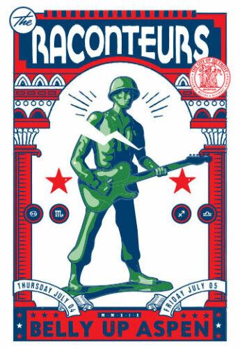 Scrojo The Raconteurs Belly Up Aspen 7/4/2019 Poster Jack White Raconteurs3_1907