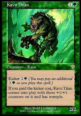 Titan Kavu - Kavu Titan MTG Magic Inv Invasion Eng / Ita