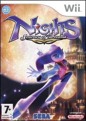 Nights Journey of Dreams Wii Nintendo jeu jeux games spellen spelletjes 2797