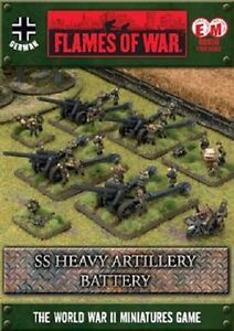 Flames of War - German: SS Heavy Artillery Battery GBX56