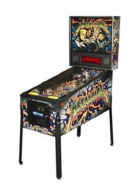 Stern Metallica Pro Pinball Machine - LED Version