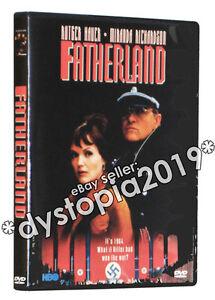 Fatherland DVD (1994) Rutger Hauer Miranda Richardson Robert Harris
