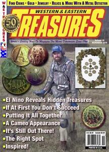 Lot of 16 Western & Eastern Treasures Magazines