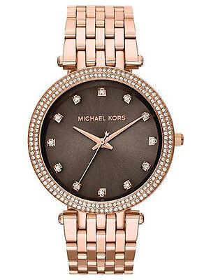 Michael Kors MK 3217 Women's Darci Rose Gold Glitz Bracelet Watch