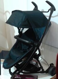 Quinny zapp extra 2 with raincover and bumper bar