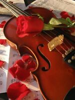 violinist for proposal, wedding and all occasions