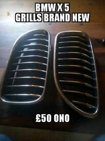 Bmw x5 grills