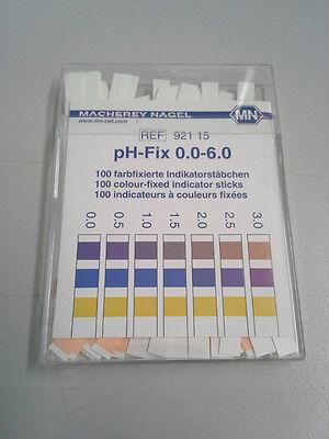 Ph Paper Indicator Strips Special Range 0-6
