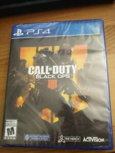 Call of Duty Black Ops 4 PS4 SEALED