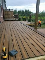 Quality fences, Custom decks, professional contractor book now!