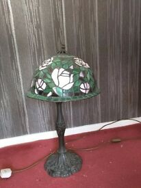 Table Light,Leaded Glass (Tiffany Style) Table Light