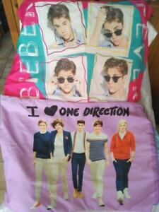Justin Bieber One direction pillow case 'i ship'