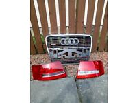 2005 Audi A6 6 front grill and rear lights