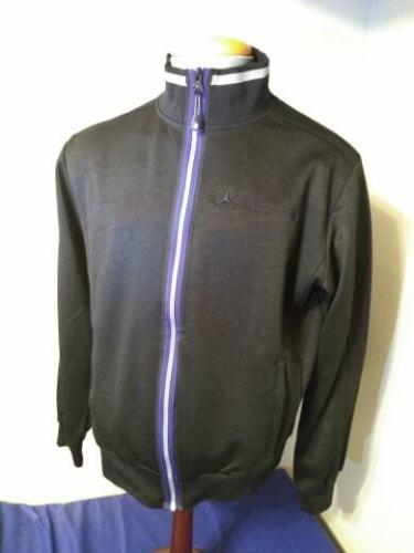 Mercedes Benz Mockneck Sports Jacket Men Size Large