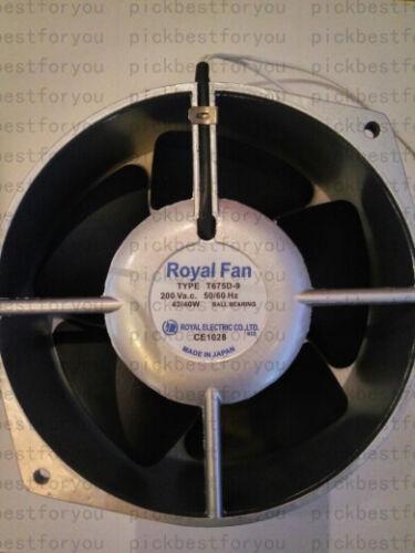 Royal Fan TYPE T675D-9 Aluminum alloy High temperature 200V 172*150*55 #MH23 QL