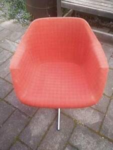 6 X RETRO ORIGINAL HILLE BY ROBIN DAY DINING CHAIRS Kew Boroondara Area Preview