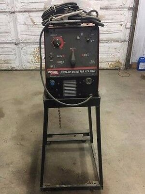 Lincoln Square Wave Tig 175 Pro Welder 480v
