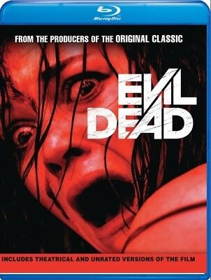 Evil Dead: Unrated 2013 (2-Disc Blu-ray) Jane Levy, Shiloh Fernandez - New!