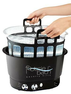 Footsiebath Pedicure Spa and Disposable Liner System Footsie Bath Foot Spa Nails
