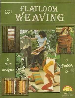 Flatloom Weaving Judith Snell Vintage Instruction Project Pattern Book 1976 NEW