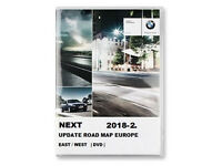BMW NEXT 2018-2 NAVIGATION UPDATE ROAD MAP EUROPE , & 1 X FSC CODE