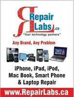 Cellphone Laptop Tablet repair Shop for Sale www.RepairLabs.ca