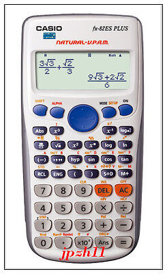 Students Brand NEW Casio Scientific Calculator FX-82ES Plus White Fashion Hot