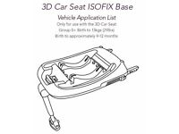 Silver Cross 3d Car Seat Isofix Base