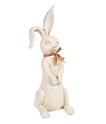 Spring Easter Bunny Long Ears Rabbit Table Centerpiece 15 1/2