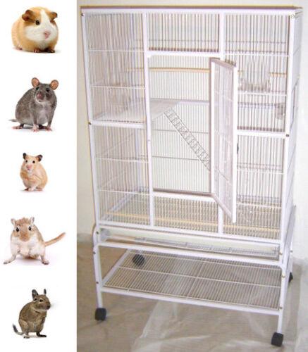 "64"" Large 3 Level Ferret Chinchilla Glider Mice Rat Guinea Pig Rabbit Cage 533"