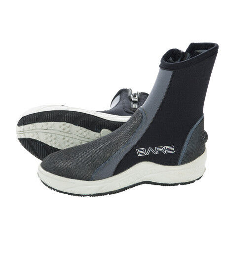 Bare Scuba Diving Snorkeling Booties Bare 6mm Ice Wetsuit Boots Size 5-13