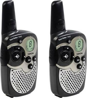 Topcom Twintalker 1302 SET Funksprechgerät Walkie Talkie 8