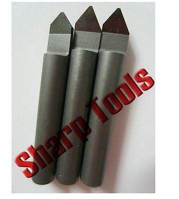 2pcset 6mm900.4mm Polycrystalline Pcd Diamond Cnc Router Bit Granite Stone