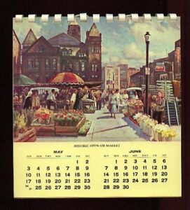 Hamilton Landmarks  (1964 Calendar of) by Frank Panabaker,
