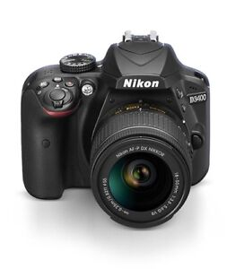 Looking for a Nikon D3400 or Canon T5 or T6