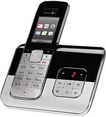 T-SINUS A806 Touch Schnurloses Design Telefon + Anrufbeantworter Schnurlos ()