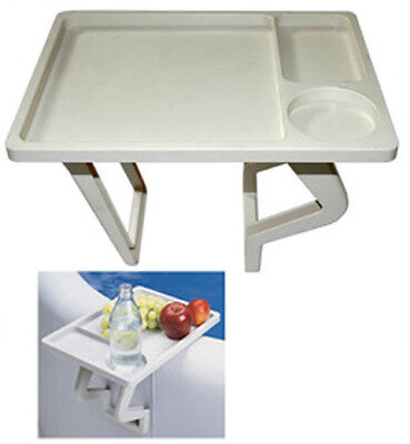 Hot Tub & Spa Drinks Tray Works on All Hard Shelled Spas and Hot Tubs Table (Hot Tub Tables)