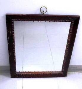 Vintage Cast-iron Frame Wall Mirror - if picked-up this week