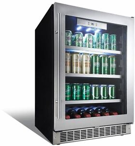 Silhouette Built-In Beverage Center, 5.6 Cubic Feet STAINLESS