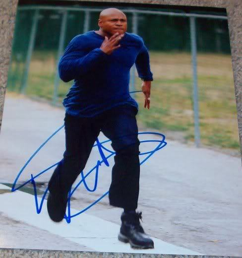 LL COOL J SIGNED NCIS LOS ANGELES 8x10 PHOTO C w/PROOF AUTOGRAPH