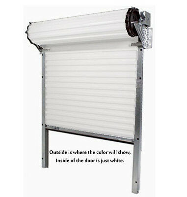 Model 650 - 7 X 7 Light Duty Rolling Self Storage Steel Roll-up White Door